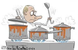 (OPINION) Kremlin Paranoia Cooks Up New Threats