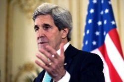 "Kerry says US to continue ""increased presence"" in Baltic states"