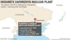 'Emergency repair' reported at Ukraine nuclear power plant