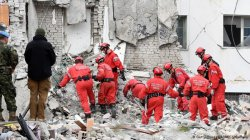 Albania earthquake: Tears, prayers in village near epicenter